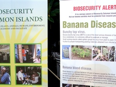 Biosecurity public awareness campaign